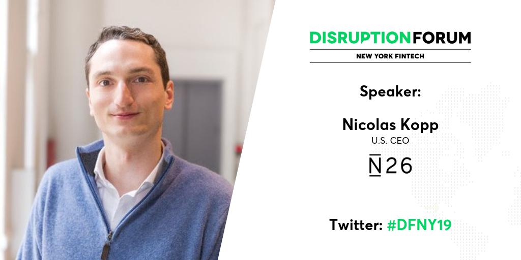 N26 Nicolas Kopp US CEO