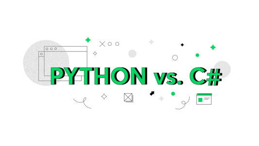 what are differences between Python and C sharp