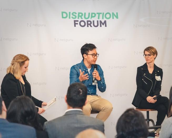 Disruption Forum NYC - Netguru, Plaid, Payoneer