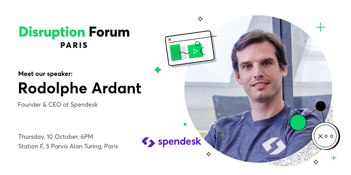 Rodolphe Ardant Spendesk Disruption Forum Paris