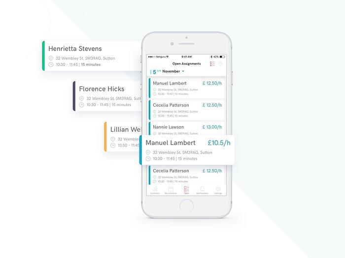 Helpr: healthcare app for UK based startup