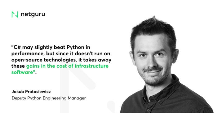 C# vs Python performance