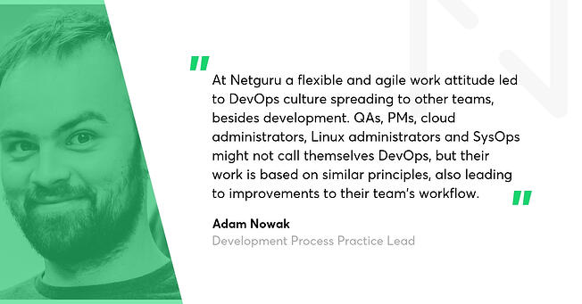 Adam Nowak DevOps Blog interviews