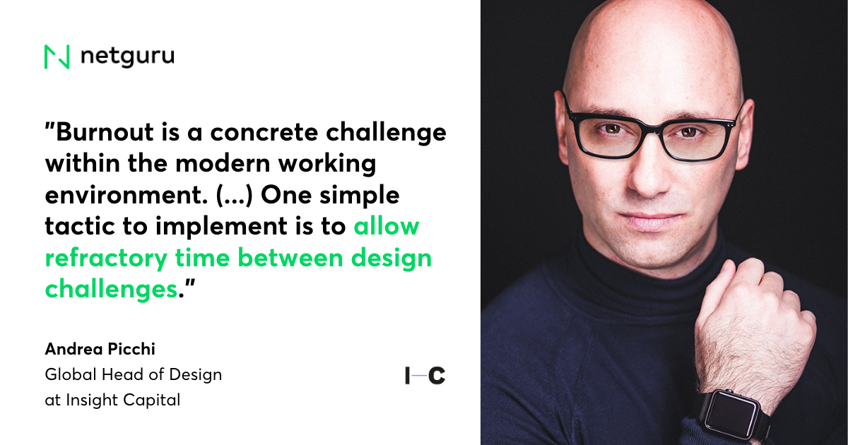 Andrea IC mistakes design managers make quote
