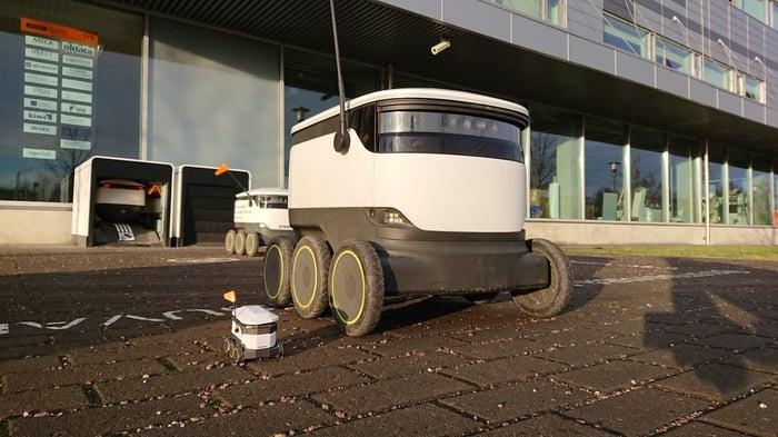 Autonomous_delivery_robot