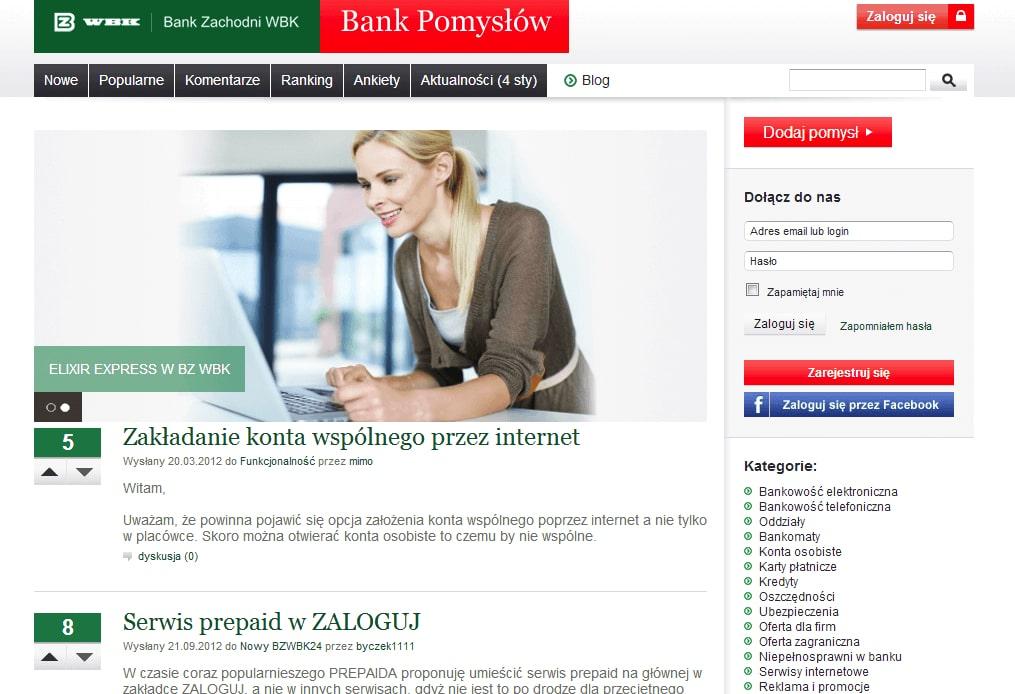 BZ WBK Bank Pomyslow Final screenshot