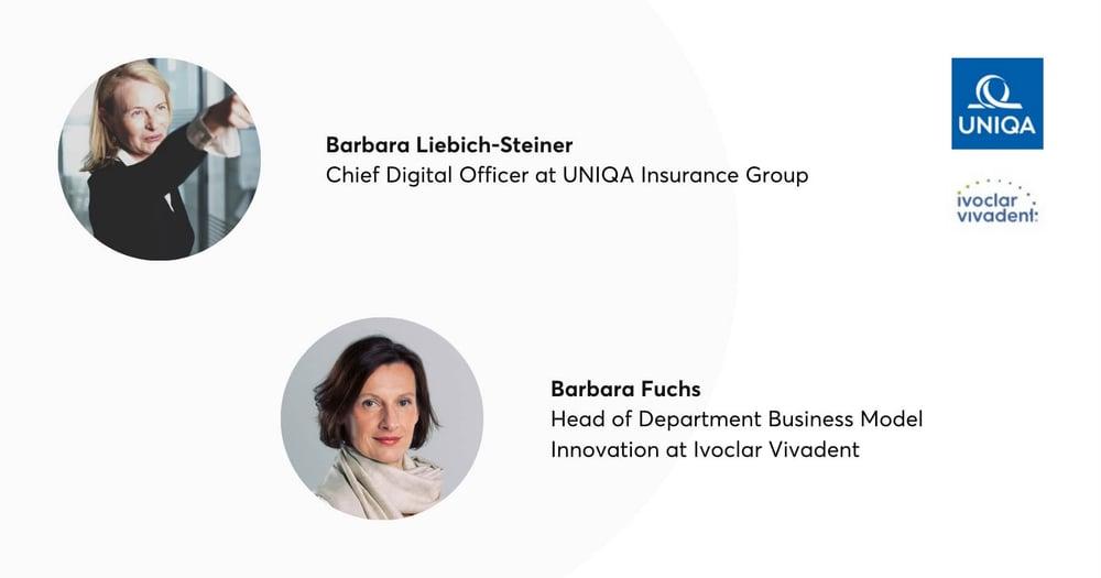 Barbara Liebich-Steiner and Barbara Fuchs