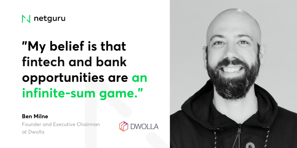 Ben Milne, Founder and Executive Chairman at Dwolla