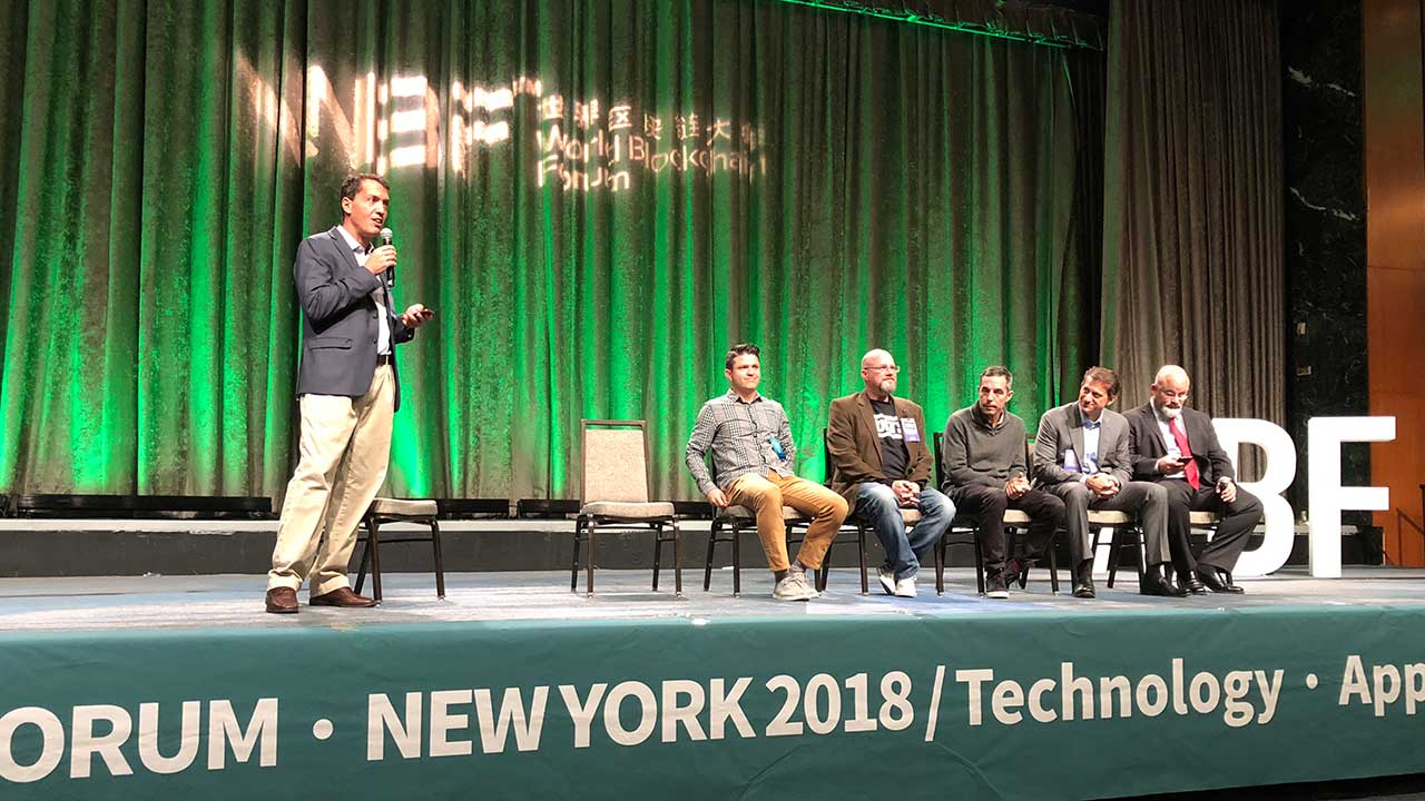 Blockchain World Forum NY