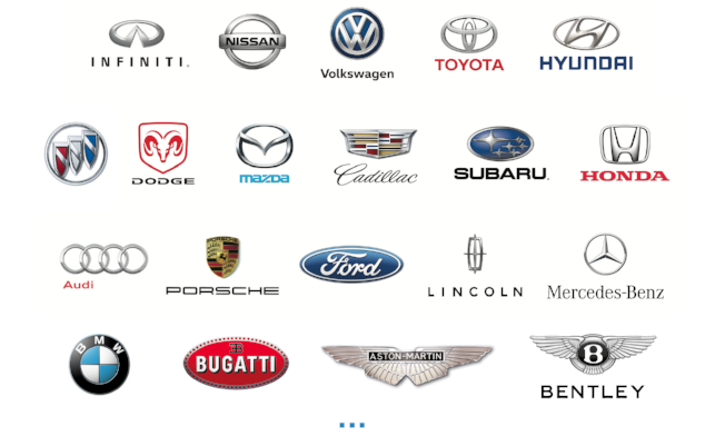 Quik Video car brands