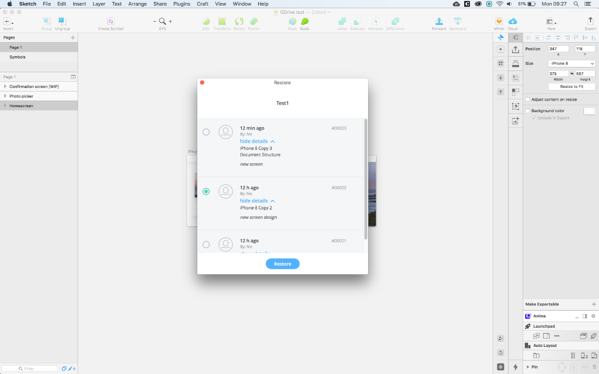 Tools for effective design collaboration in Sketch