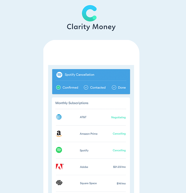 Clarity Money netguru startups New York