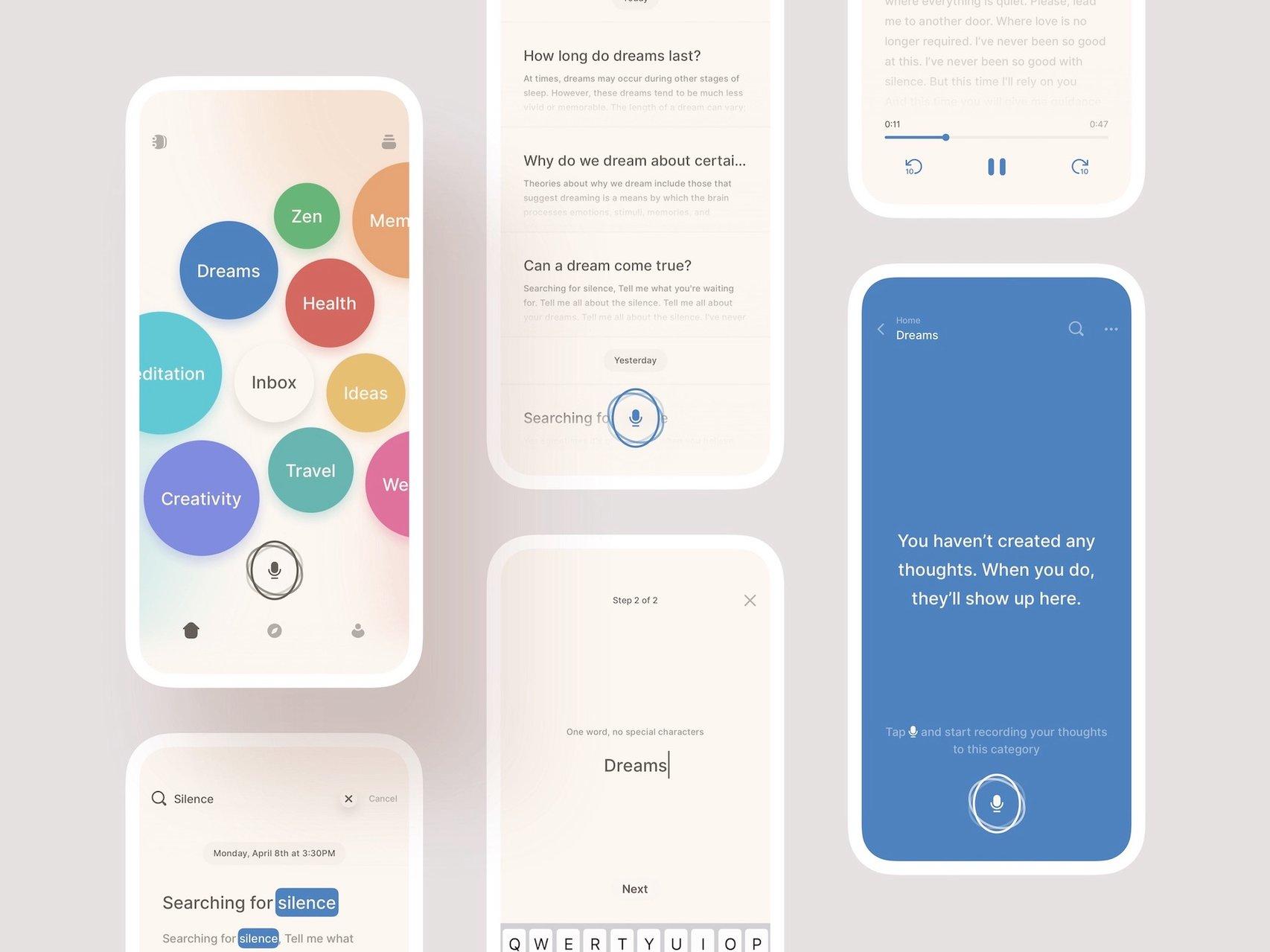 CocoonWeaver interfaces visual
