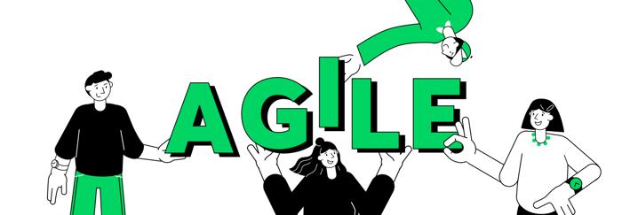 Agile illustration