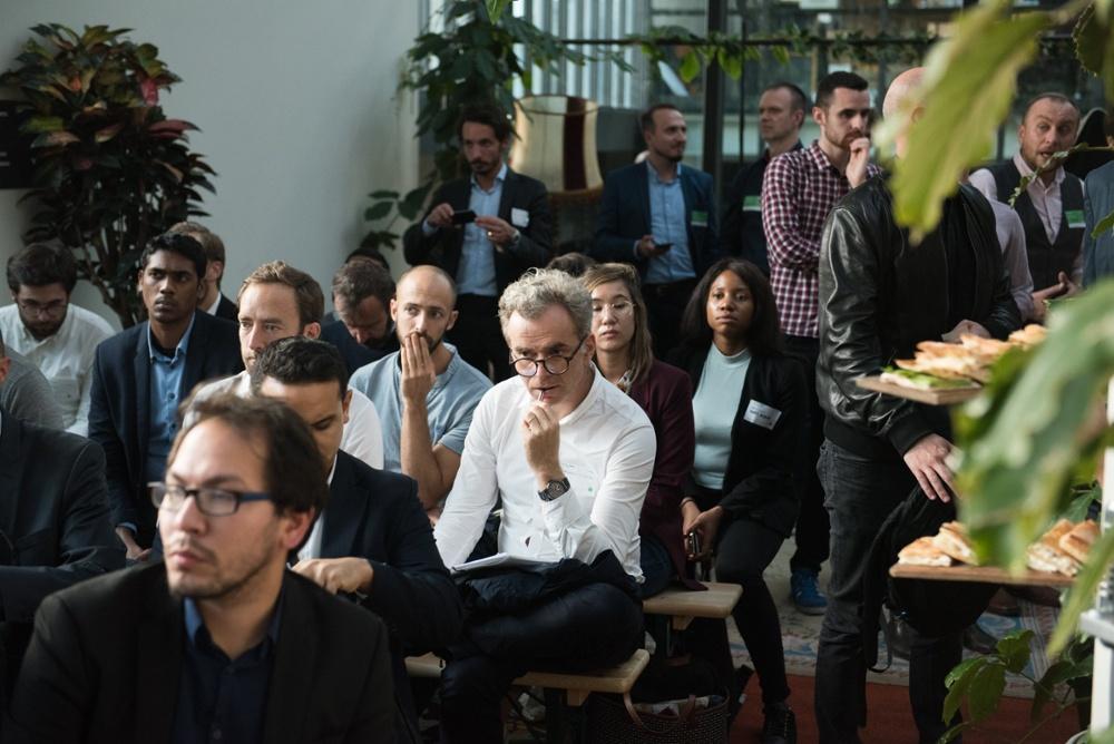 DF Fintech attendees