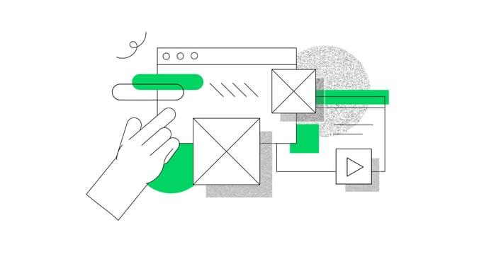 complex interface illustration
