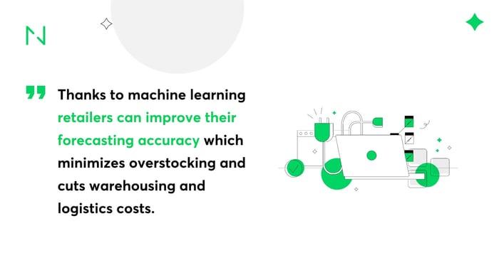Demand forecasting using machine learning