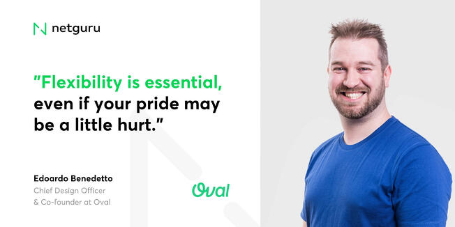 Edoardo from Oval - flexibility