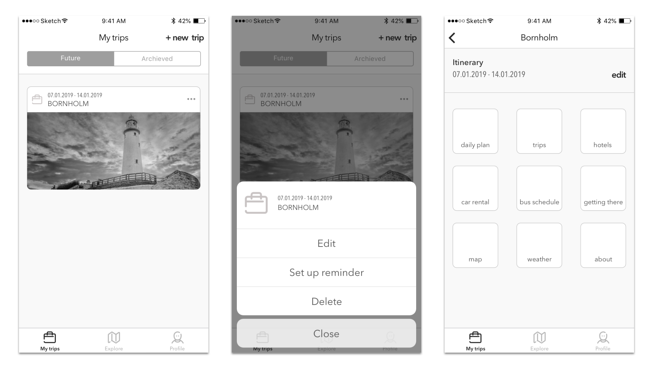 Effective cooperation between designers and developers wireframes