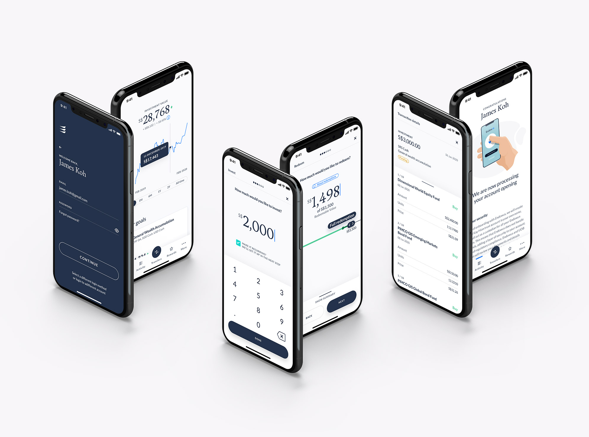Endowus app