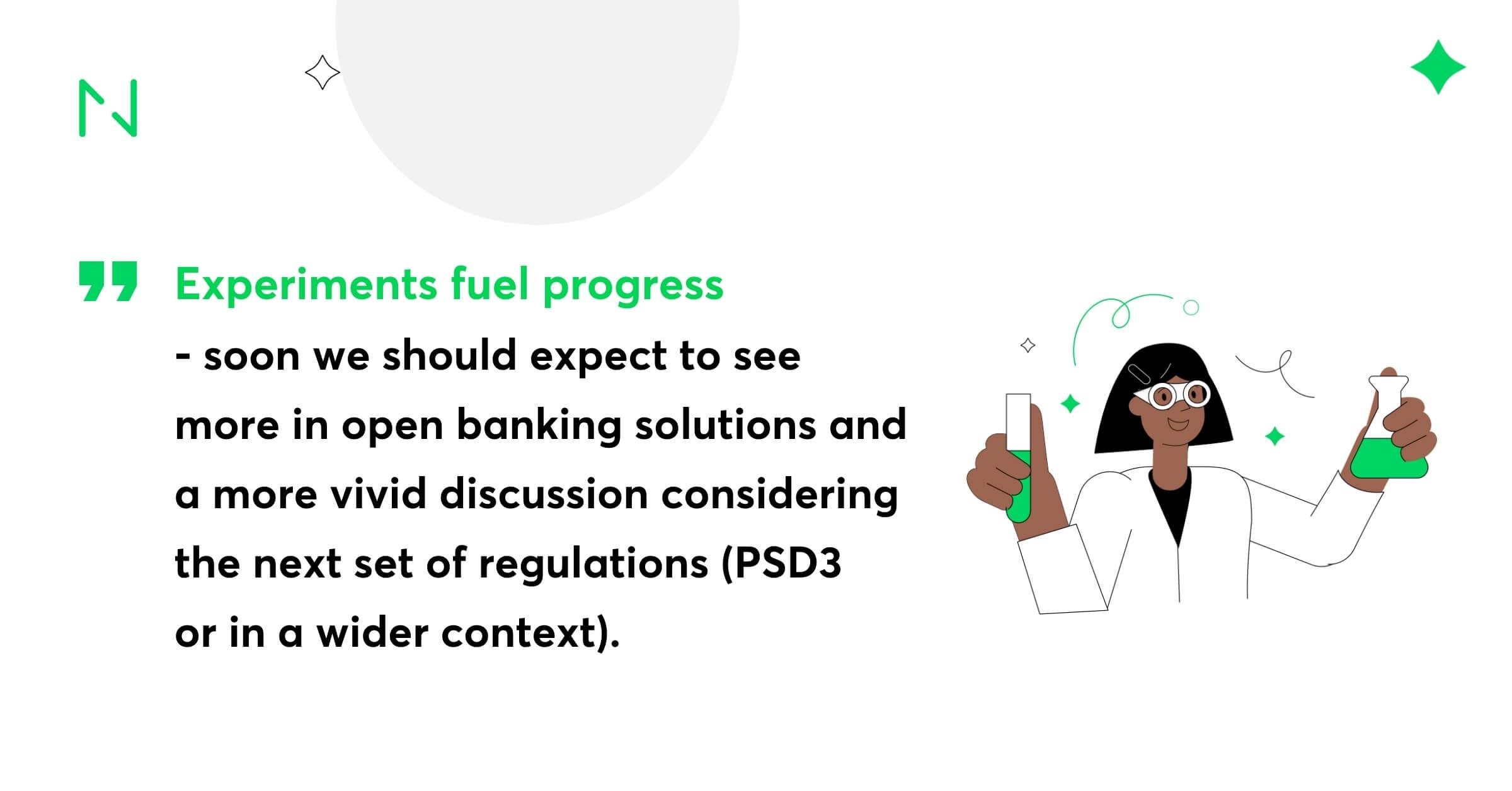 Experiments fuel progress (1)
