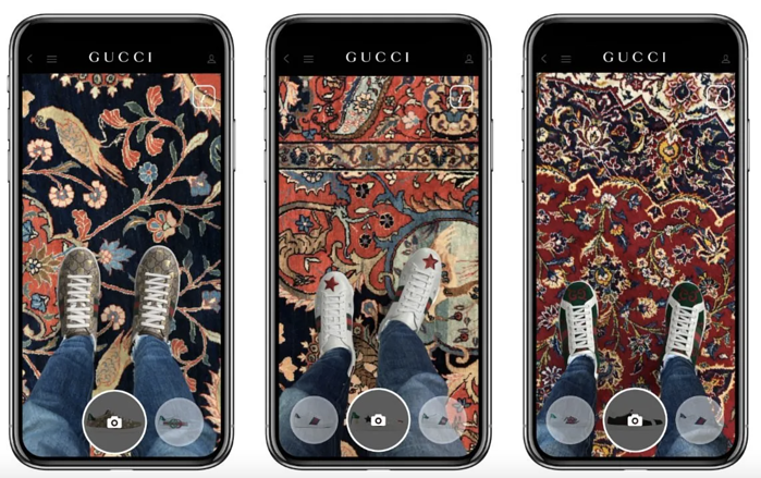 Gucci_iOS_app_augmented_reality