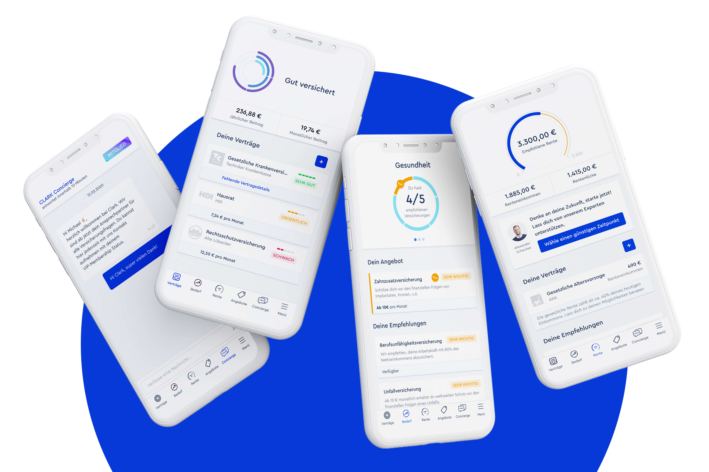 Clark app interfaces