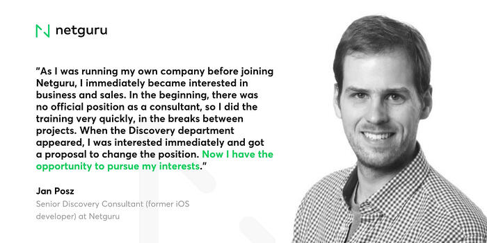 Quote of Discovery Consultant Mobile success story