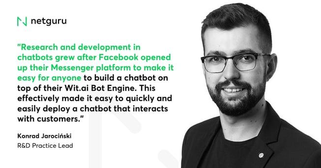 Konrad Jarocinski on Chatbots