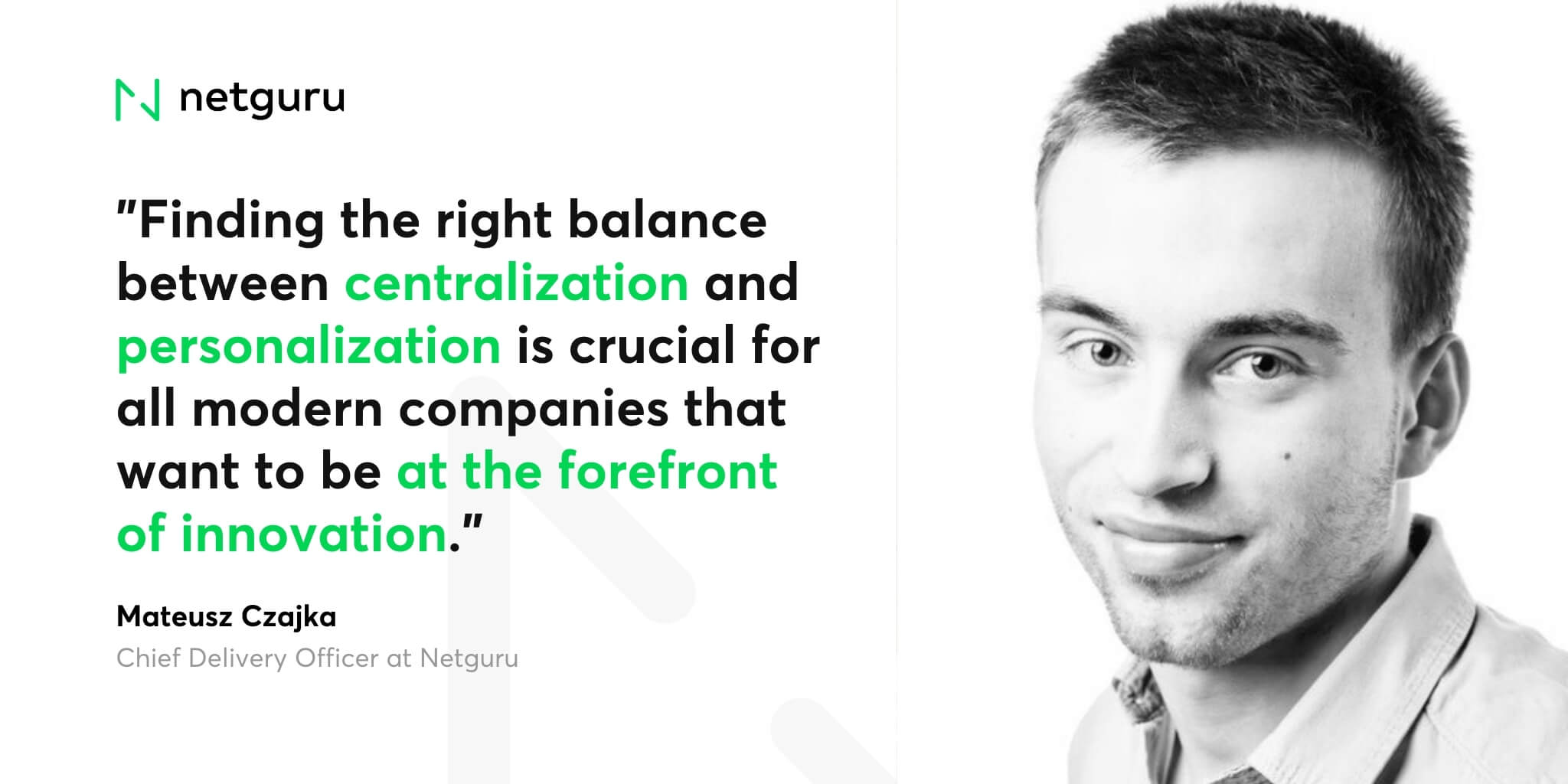Matt Czajka on centralization (1)