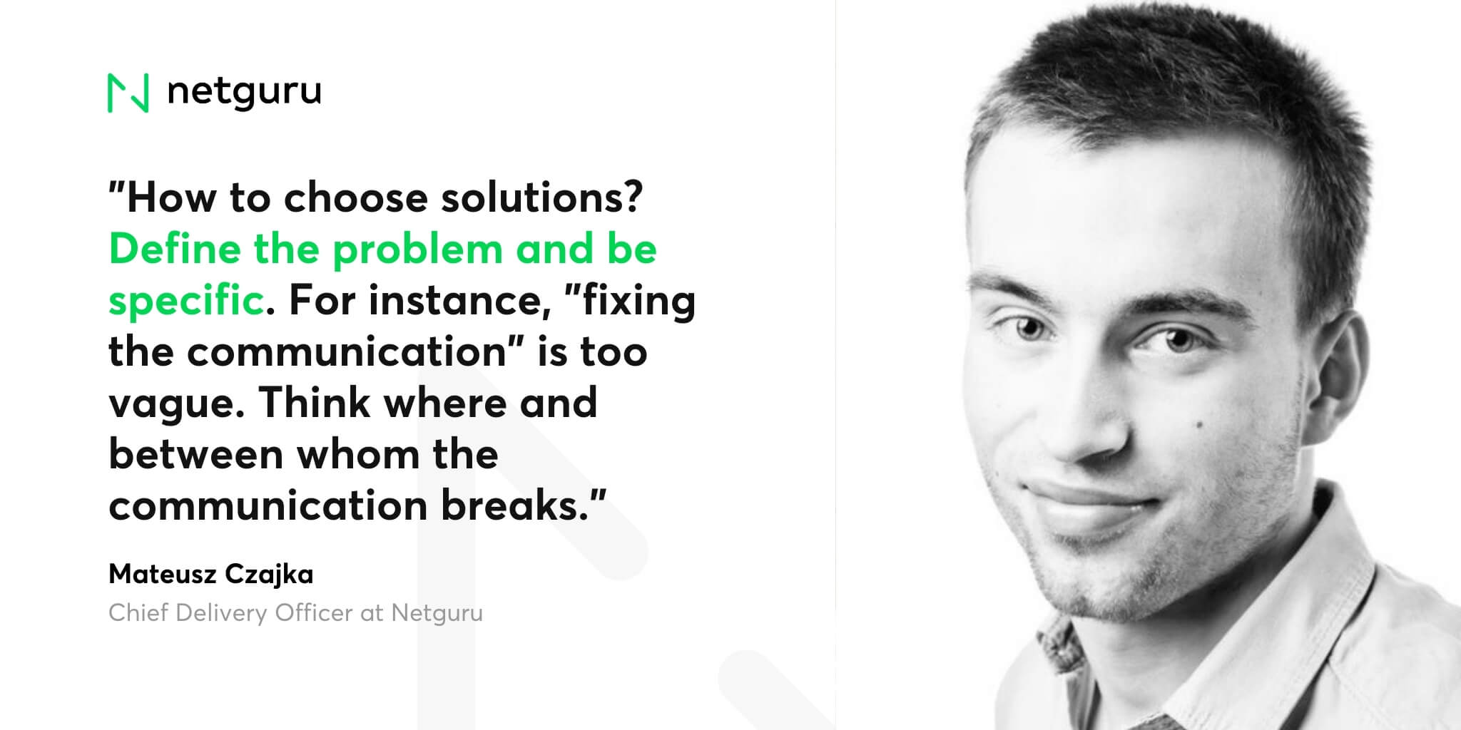 Matt Czajka on defining the problem (1)-1