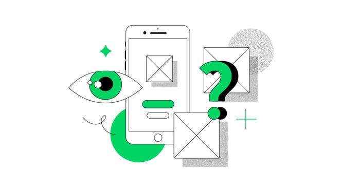 UX review methods illustration