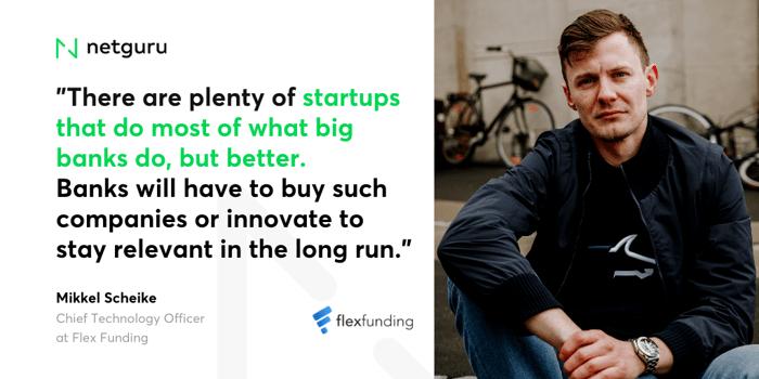 Mikkel Scheike, Chief Technology Officer at Flex Funding