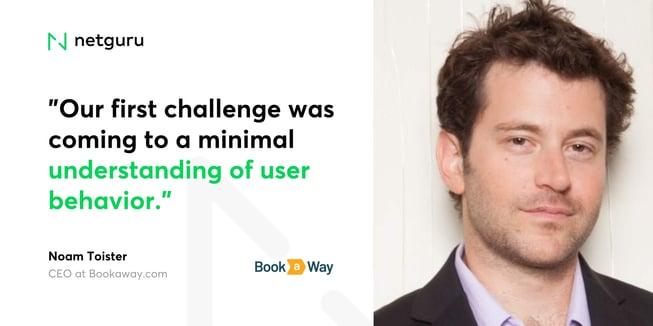 Noam from bookaway - challenge