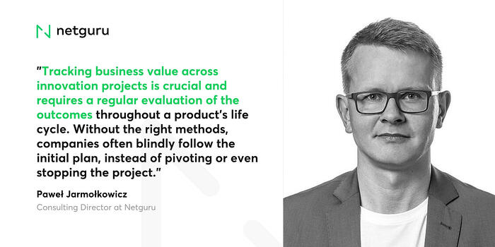 Paweł on tracking business value
