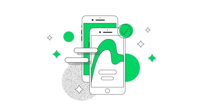 mobile forms illustration