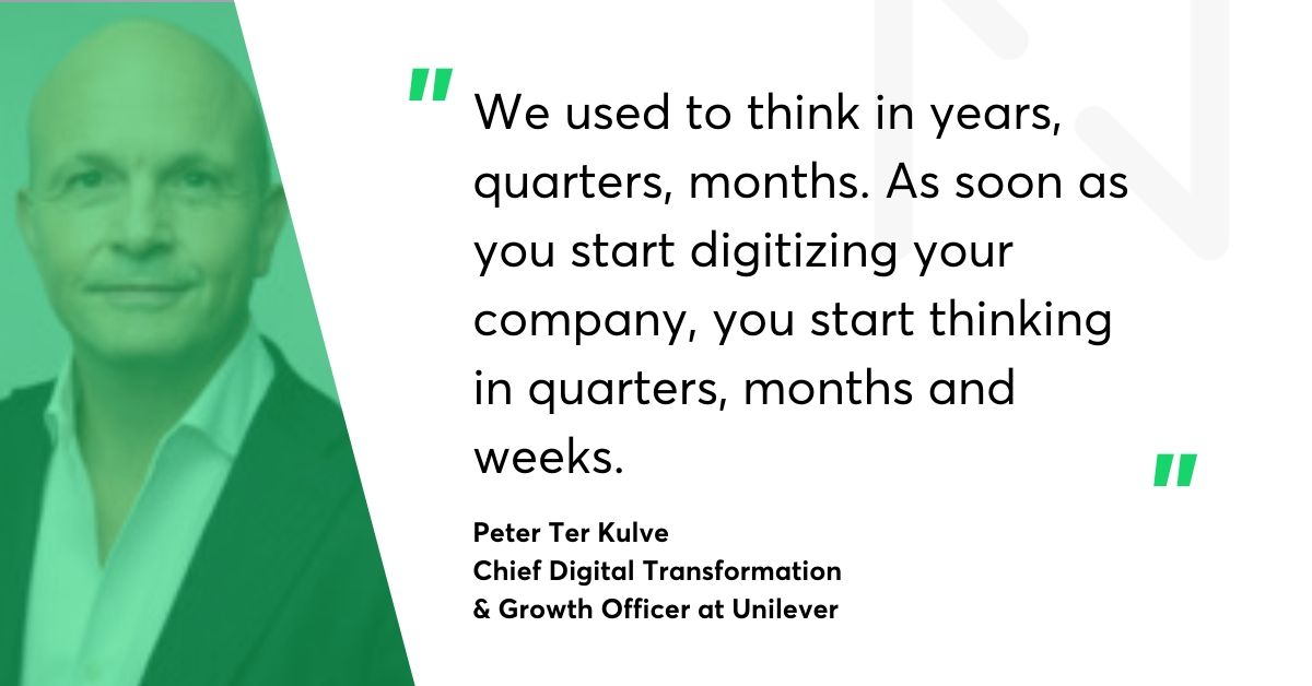 Peter Ter Kulve Unilever quote
