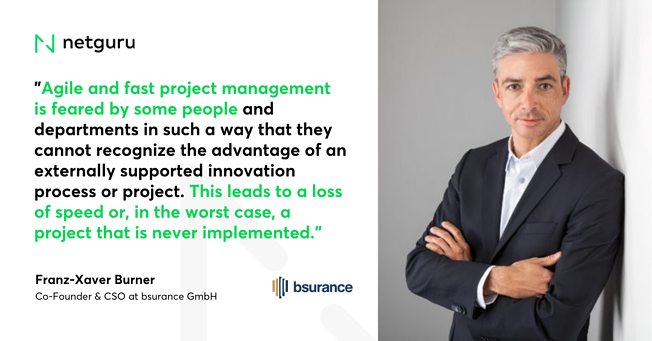 Quote on Innovation Bsurance