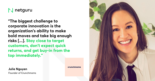 Quote on Innovation Crunchmoms