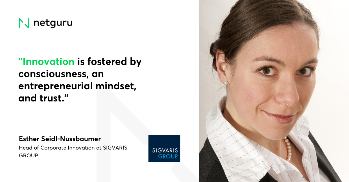 Quote on Innovation Sigvaris