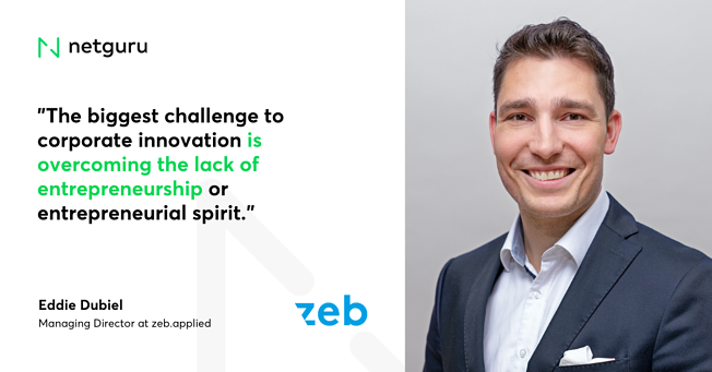 Quote on Innovation Zeb