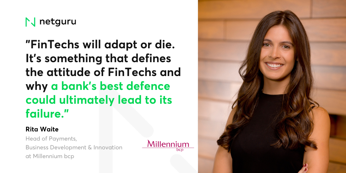 Rita Waite, Head of Payments, Business Development & Innovation, Millennium bcp   2