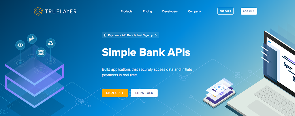 TrueLayer Bank APIs