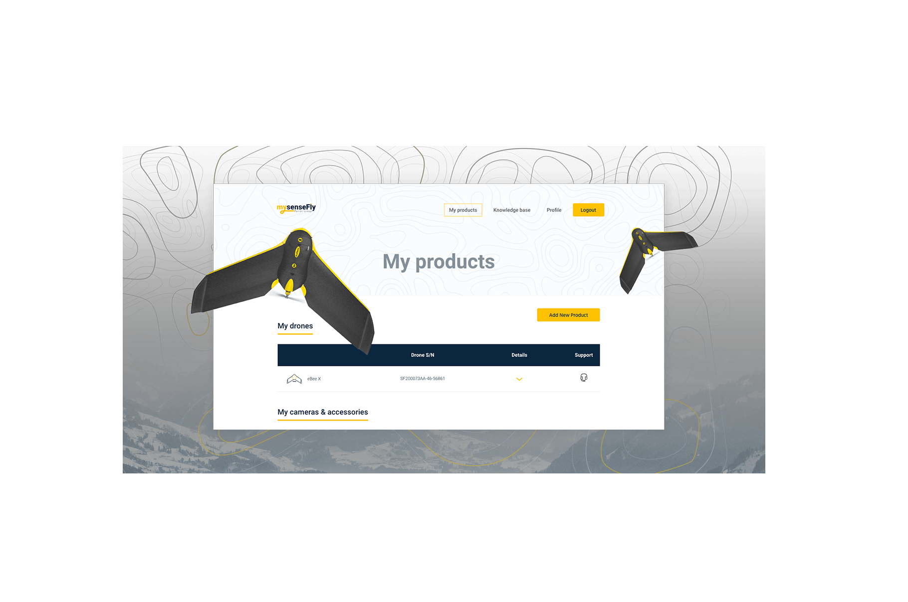 senseFly - Vue.js application developed by Netguru