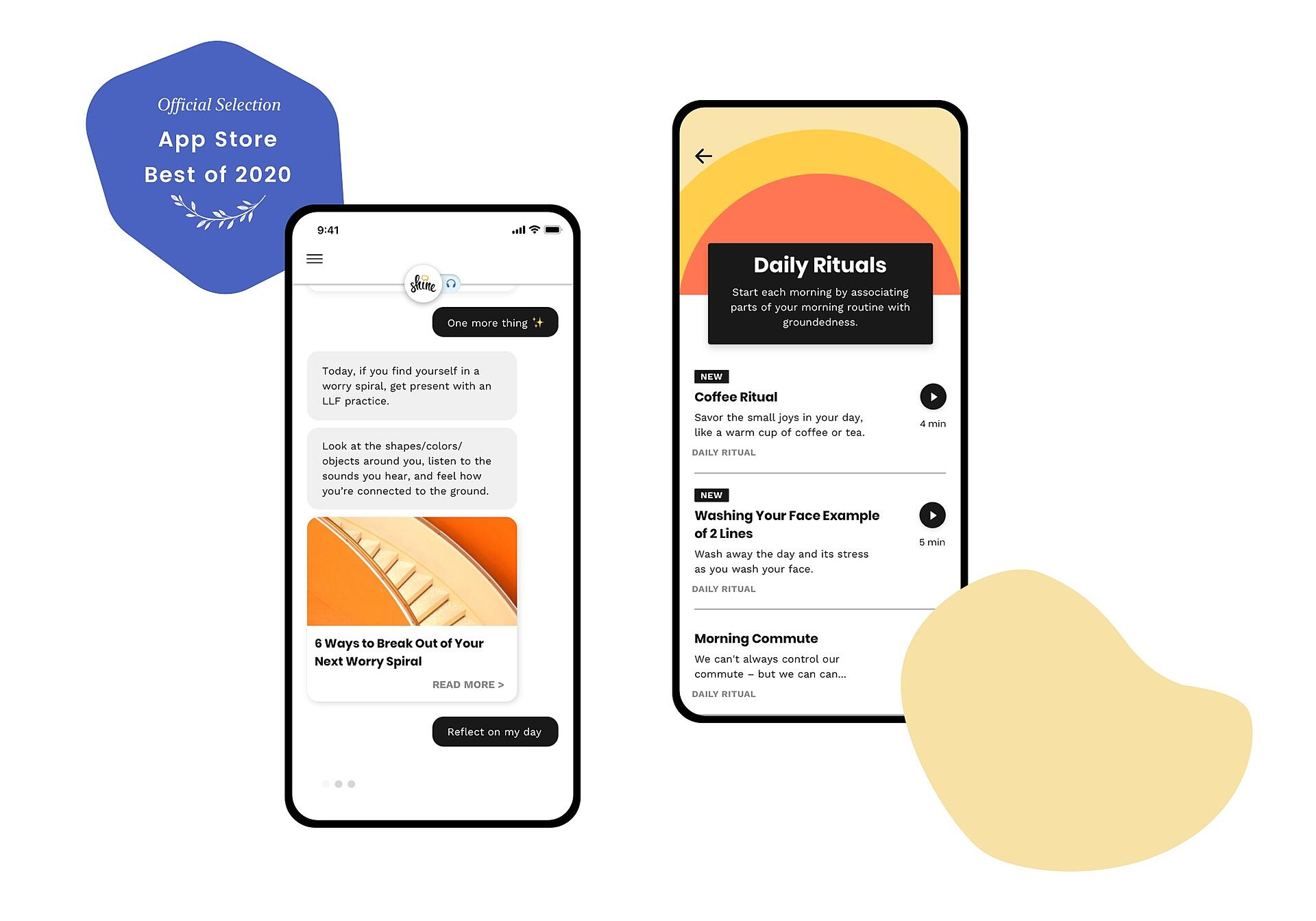 Shine App Store Best of 2020