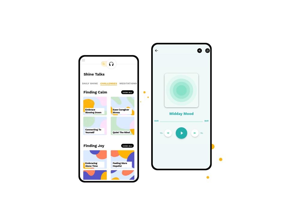 Shine - Health App developed by Netguru