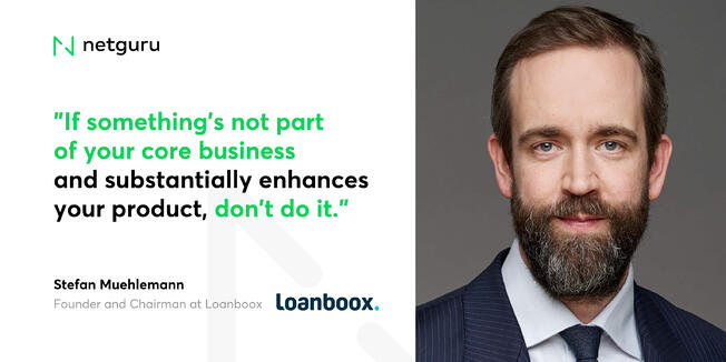 Stefan Muehlemann from Loanboox - core business