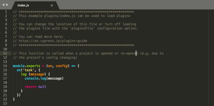 Tests logs, design 14
