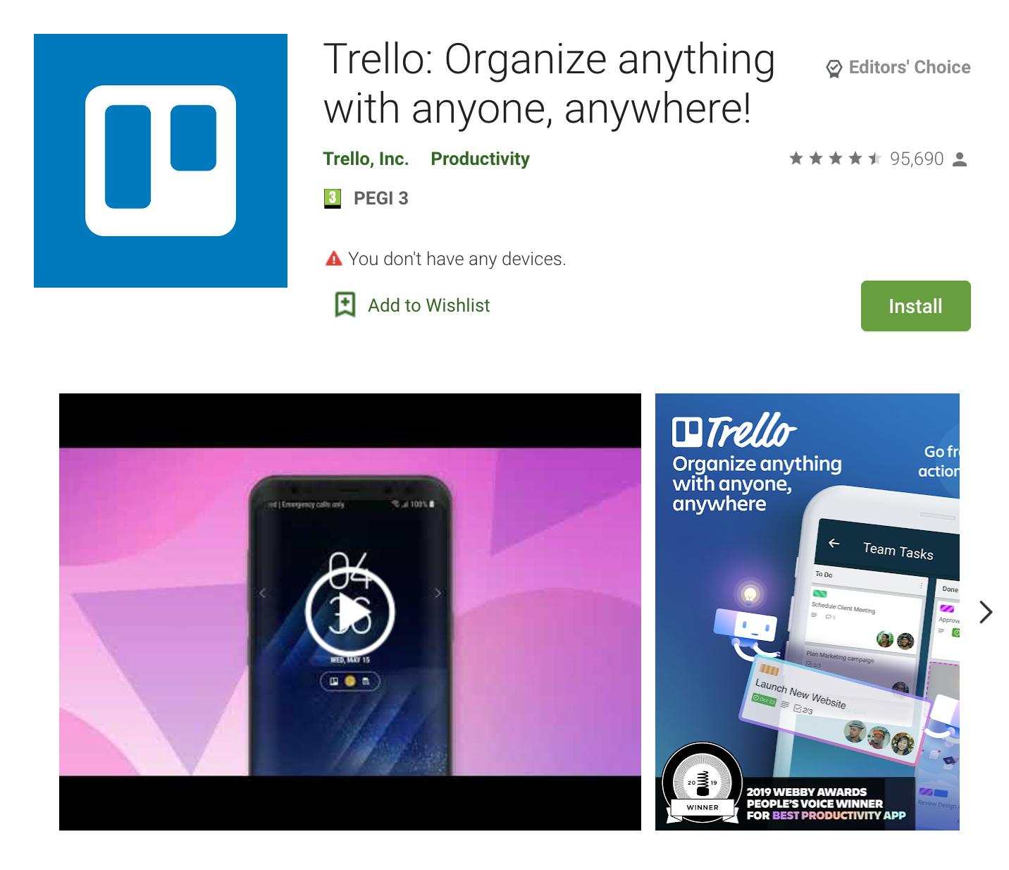 Apps Written in Kotlin: Trello