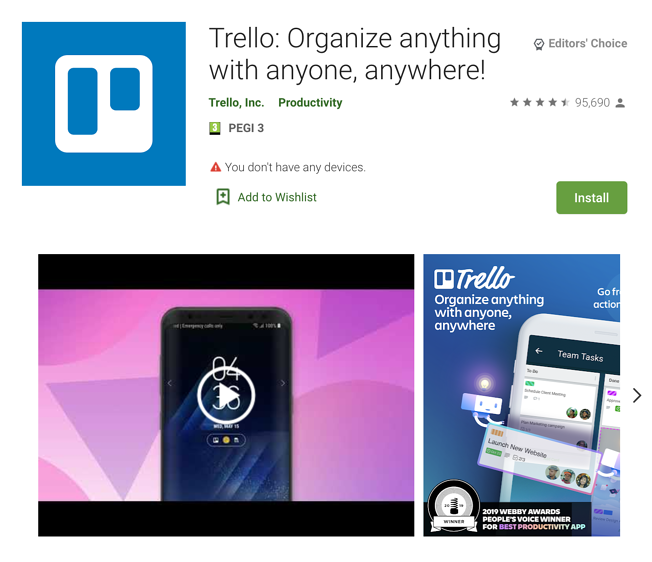 Apps Written in Kotlin: Trello